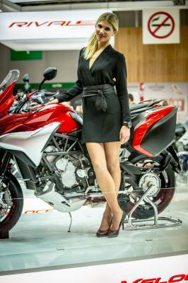 Les Hotesses du Salon de la Moto