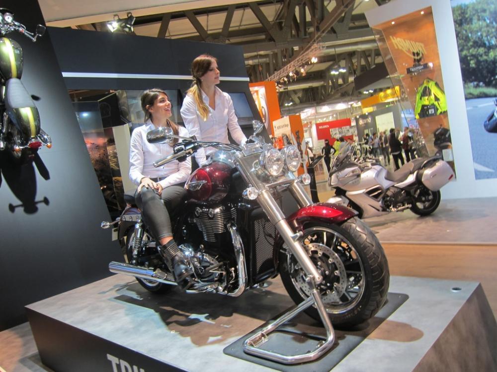 Eicma 2013 - Triumph peaufine ses Customs