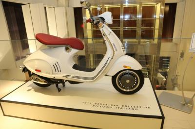 PIAGGIO, VESPA, Une affaire en or !