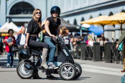 Sway Motorsports : le trois-roues électrique américain en vidéo
