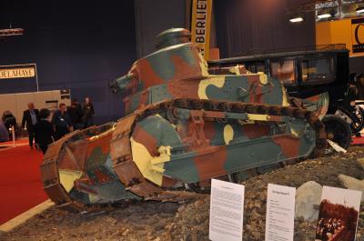 Les véhicules de la Grande Guerre à Rétromobile