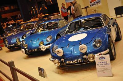 Les Alpines de Jean Rédélé à Rétromobile