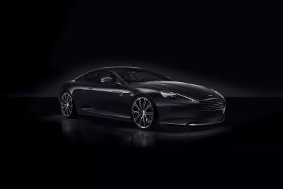 Aston Martin DB9 Carbon Black et Carbon White