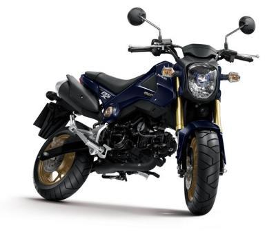 La Honda MSX 125 s'offre un lifting pour 2014