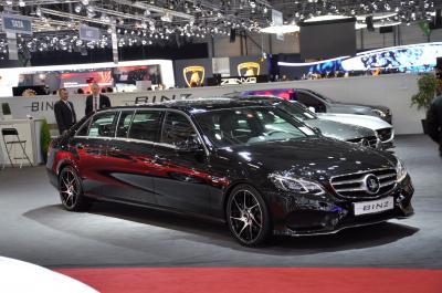 Mercedes Classe E limousine par Binz