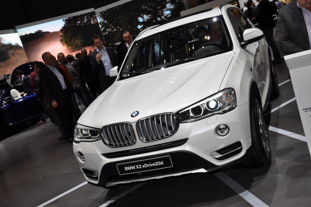 BMW X3 restylé