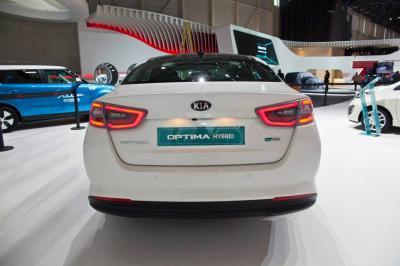 Kia Optima Hybrid restylée