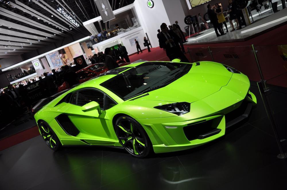 FAB Design Debuting Lamborghini Aventador Spidron