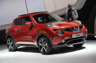 Nissan Juke restylé