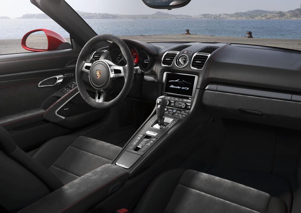 Porsche Cayman et Boxster GTS