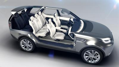 Land Rover Discovery Vision