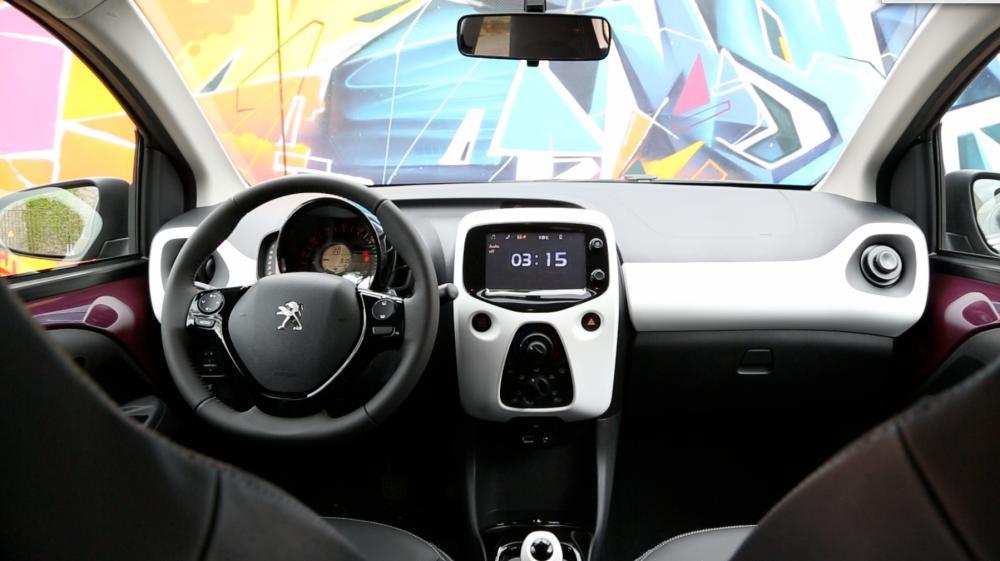 Peugeot 108 for Interieur 108