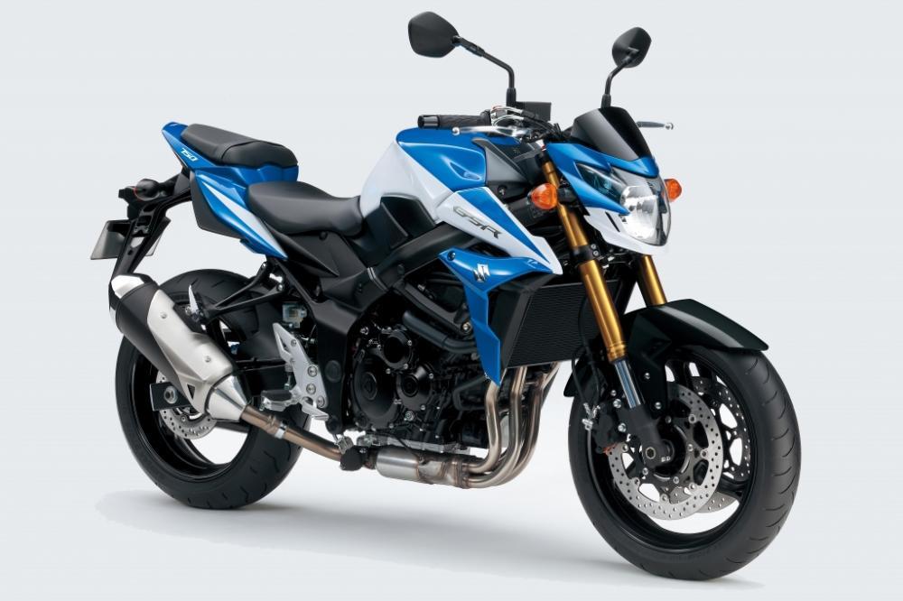 Suzuki GSR 750 : Edition Spéciale 2014