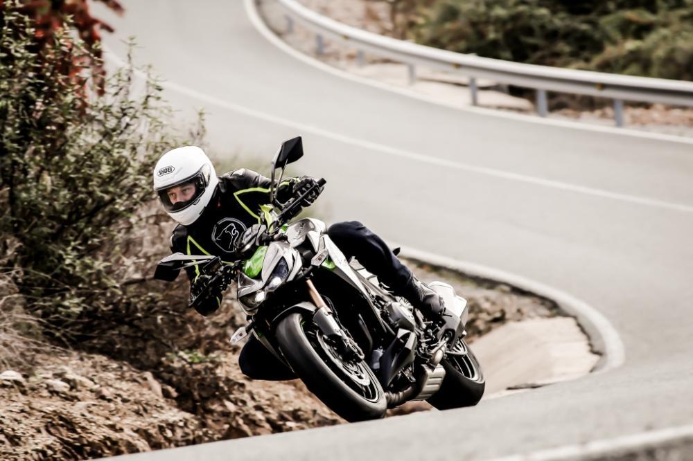 Essai Kawasaki Z 1000 mod.2014