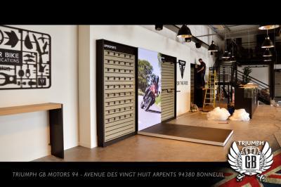 Triumph GB Motors : nouvelle concession Val-de-Marne