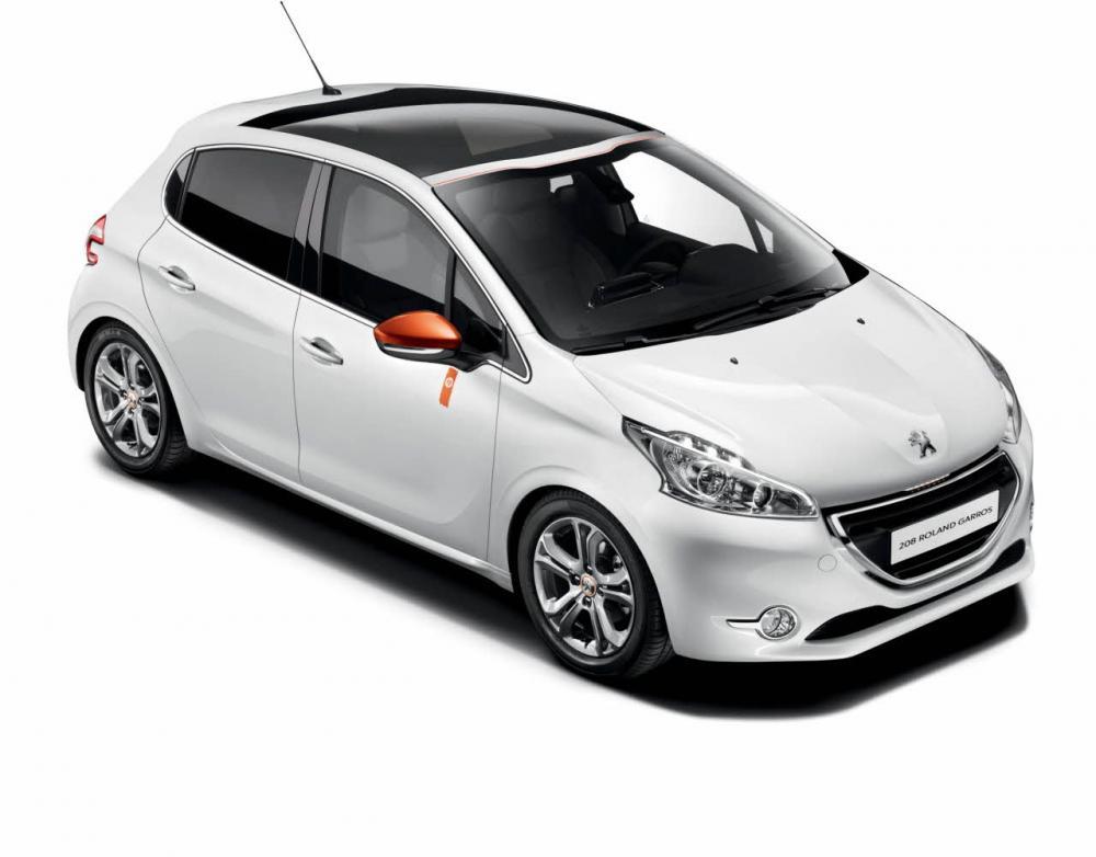 roland garros peugeot 208 car interior design