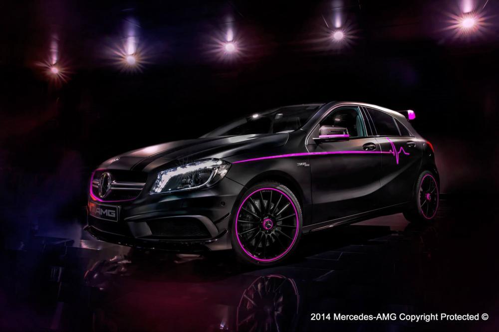 Mercedes A45 AMG Erika
