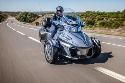 Essai Can-Am Spyder RT 2014