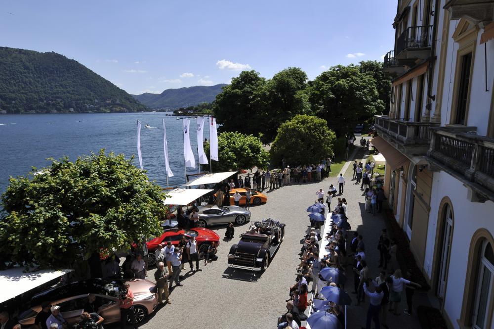 Concours d'Elégance de Villa d'Este : le trident à l'honneur