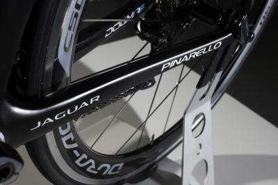 Un vélo dessiné par Jaguar sur le Tour de France 2014