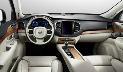 L'interface tactile du prochain Volvo XC90