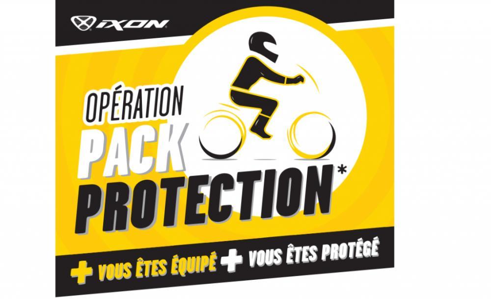 Opération Pack protection - IXON propose 3 solutions de 149 à 199 €
