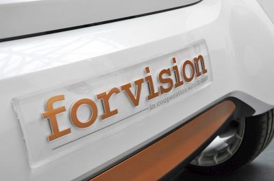 La chimie au service de l'autonomie sur la Smart Forvision