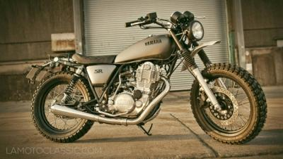 Transformez votre Yamaha SR 400 en Yard Built GibbonSlap !