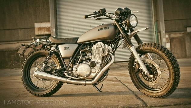 Transformez votre Yamaha SR 400 en Yard Built GibbonSlap !