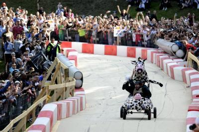 Red Bull Soapbox Races 2014 à St Cloud