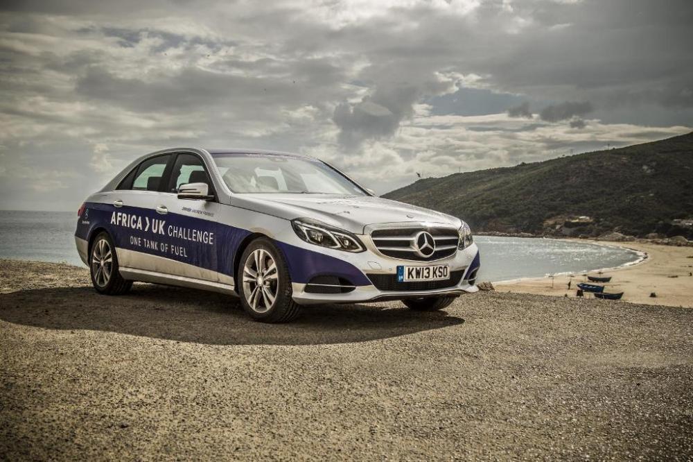 Mercedes Classe E BlueTEC Hybrid record