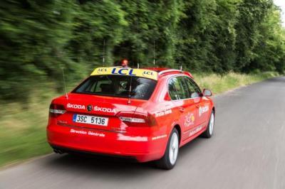 Skoda Superb Tour de France 2014