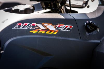 Essai Kymco Maxxer 450i IRS 4x2