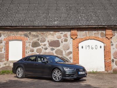 Au volant de l'Audi RS5 TDI concept