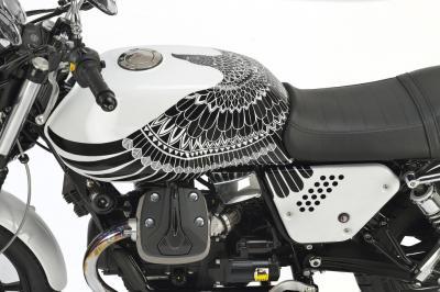 Moto Guzzi V7 Tatoo : l'aigle de Mandello se déploie