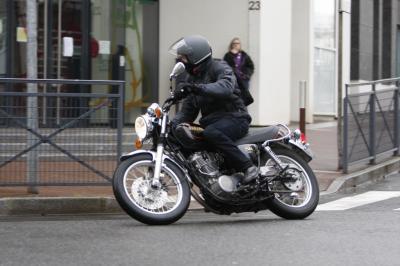 Essai Yamaha SR400