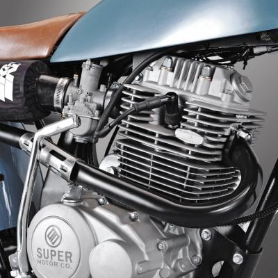 "Super Motor Company ""Lucky Punk"" : jolie néo-rétro 125 venue de Hollande"