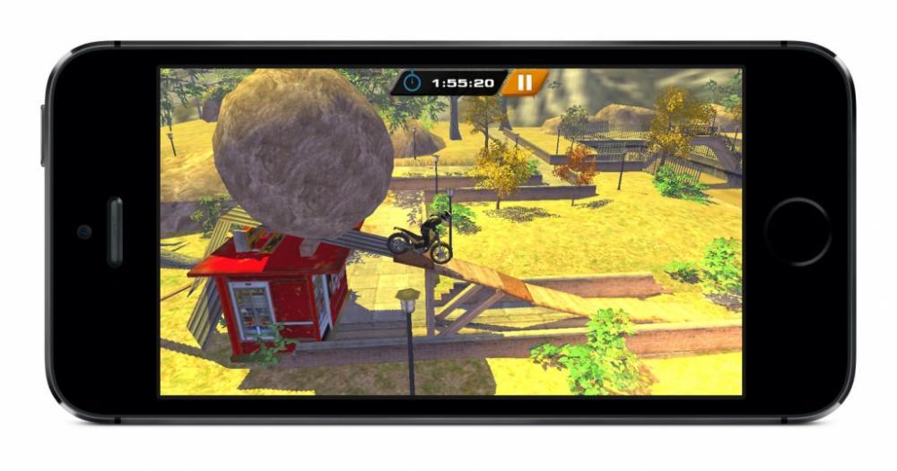 Jeu Urban Trial Freestyle : dispo sur l'App Store pour iOS