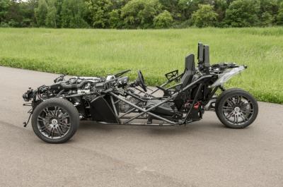 Polaris Slingshot + vidéo : l'autre 3-roues américain arrive pour 2014 !
