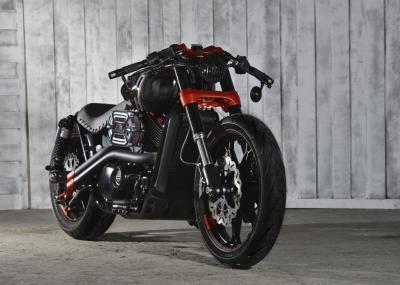 Essai Harley-davidson Street 750