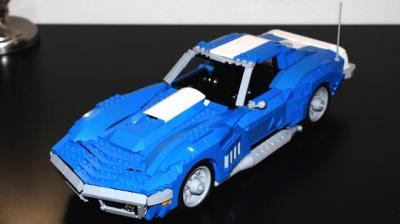 Chevrolet Corvette de 1969 en Lego