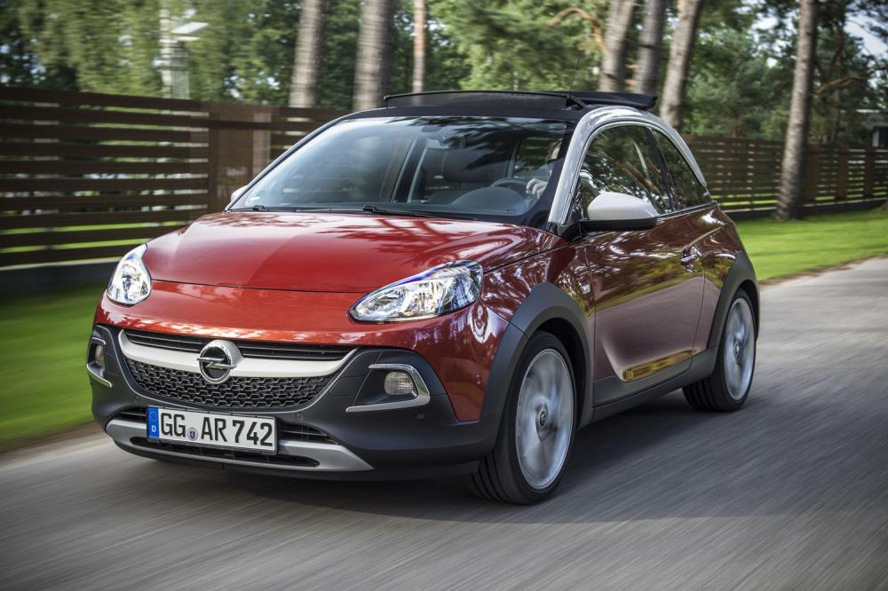Opel Adam Rocks (2014)
