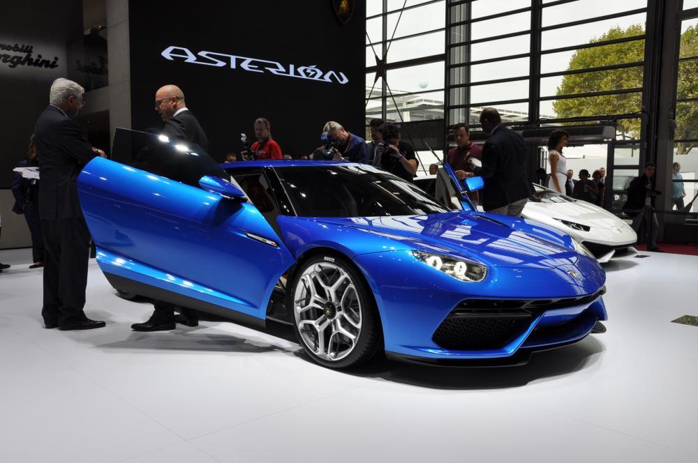 mondial auto 2014 : lamborghini asterion, l'hypercar hybride du