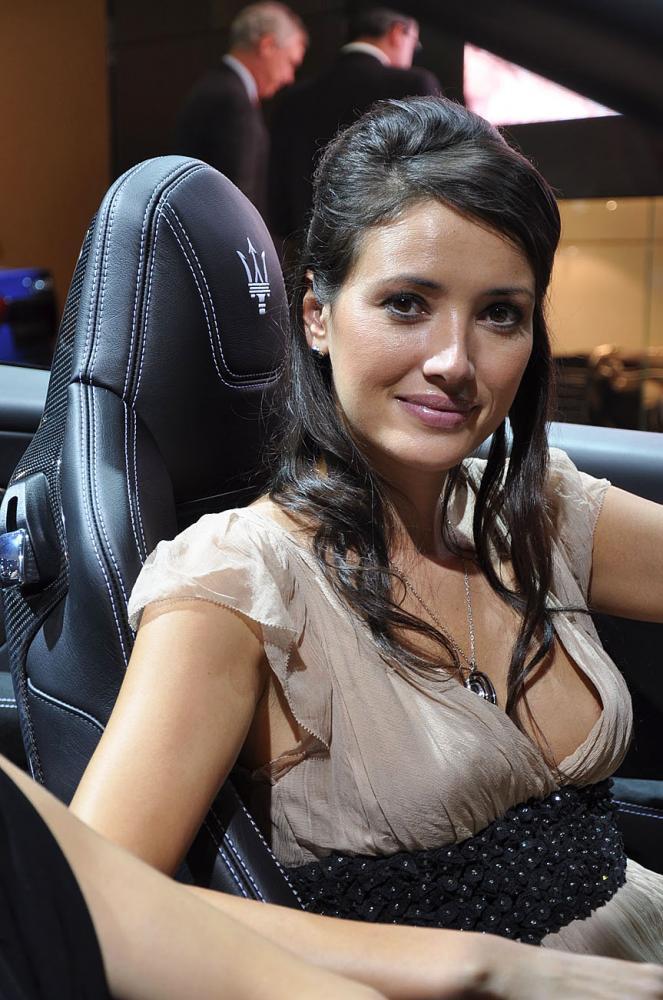 Hôtesses Mondial Auto 2014