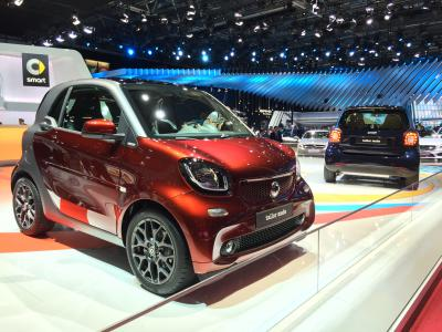 Smart ForTwo et ForFour