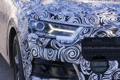Audi peaufine le nouveau Q7 au Nürburgring