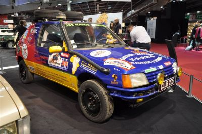 Peugeot à Rétromobile