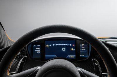 McLaren P1 intérieur