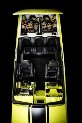 Un concept de bateau de course électrique Mercedes