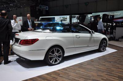 Mercedes Classe E Cabriolet 2013